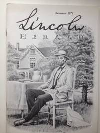 Lincoln Herald: Summer 1976 Volume 78, No. 2. R. Gerald McMurtry.