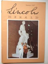 Lincoln Herald: Summer 1977 Volume 79, No. 2. R. Gerald McMurtry