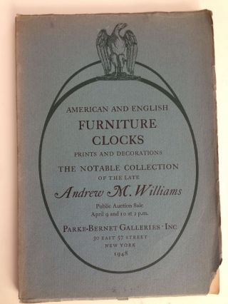 American And English Furniture Clocks Including Willard Timepieces And Rare Specimens From The...