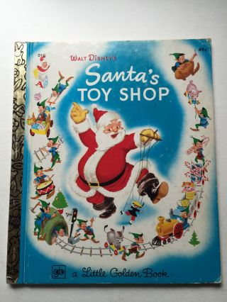 Walt Disney's Santa's Toy Shop. Al Dempster, The Walt Disney Studio