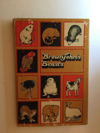 Brownjohn's Beasts. Alan and Brownjohn, Carol Lawson