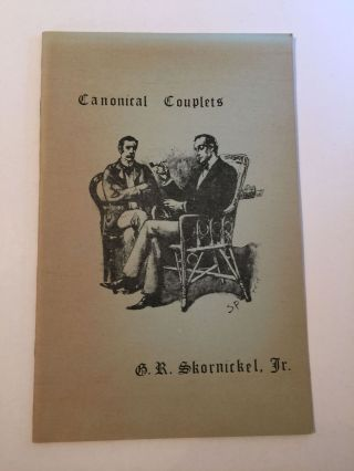 Canonical Couplets. George R. Jr Skornickel
