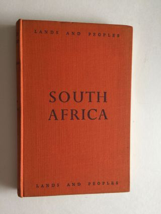 The Land and People of South Africa. D. Marquard