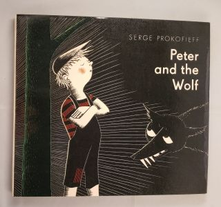Peter and the Wolf. Serge and Prokofieff, Frans Haacken