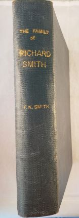 The Family Of Richard Smith. F. K. Smith, Frederick Kinsman Smith