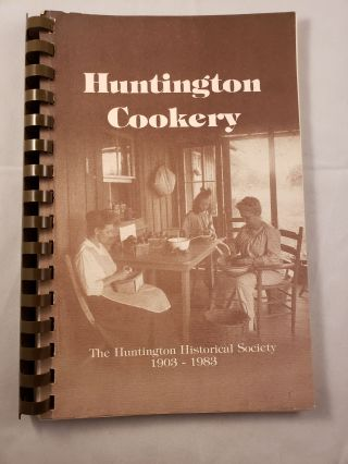 Huntington Cookery. n/a