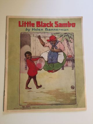 Little Black Sambo. Helen and Bannerman, Florence White Williams