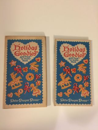 Holiday Goodies and how to make them. Edna Beilenson, Vee Guthrie.