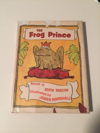 The Frog Prince. Tarcov Grimm, Edith, James Marshall.
