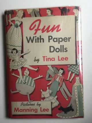 Fun With Paper Dolls. Tina and Lee, Manning Lee