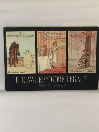 The Awdrey-Gore Legacy. Edward Gorey