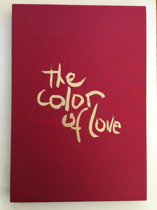 The Color Of Love: An Artist's Book of Poetry and Passion: Moving Through The World ...