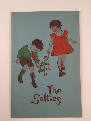 """The Salties"" or ""Nat and Sal In International Land"". David B. and Arndt, Katharine R...."