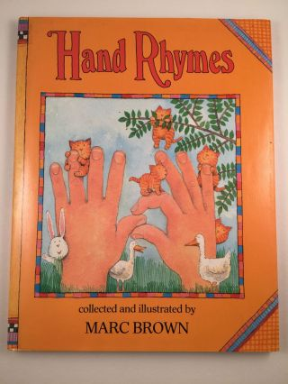 Hand Rhymes. Marc collected and Brown