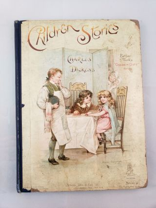 Children's Stories from Dickens. Charles Dickens, His Grand-Daughter, Edric Vredenburg, Mary...