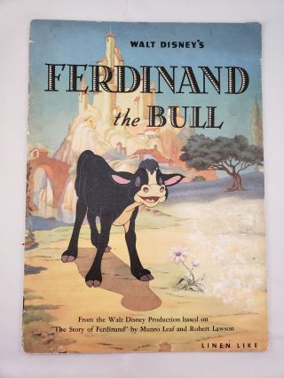 Walt Disney's Ferdinand the Bull. Walt Disney