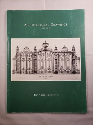 Architectural Drawings 1750-1930 Architectural and Ornamental Drawings Interiors. 1 November-1...