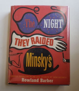 The Night They Raided Minsky's. Rowland with Barber.