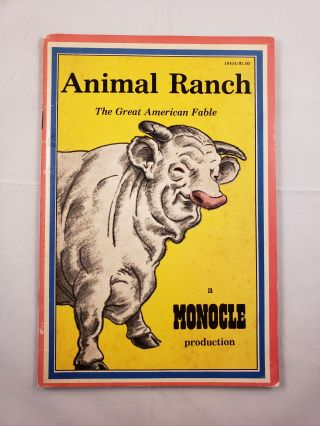 Animal Ranch The Great American Fable. Jack Newfield, Karla Kuskin, Richard R. Lingeman, Victor...