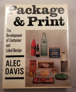 Package And Print The Development of Container and Label Design. Alec Davis