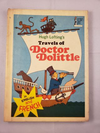 Hugh Lofting's Travels of Doctor Dolittle In English and French Beginner Reader. Hugh and...