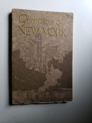 Glimpses of New York. An Illustrated Handbook Of The City. Con Edison
