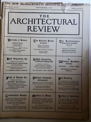 The Architectural Review, Volume II, No IX September, 1913. Bates, Guild