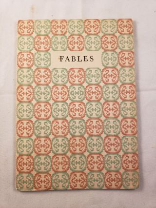 Five or More Fables. Clarice Hamill, Alfred E