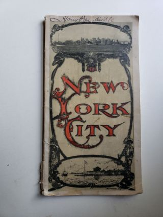 Visitors' Guide to New York City and Directory of Leading Hotels. New York American System of...