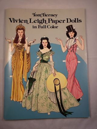 Vivien Leigh Paper Dolls in Full Color. Tom Tierney