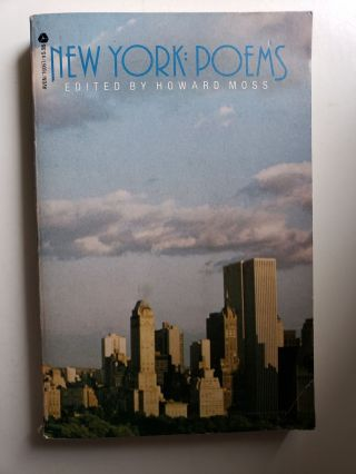 New York Poems. Howard Moss