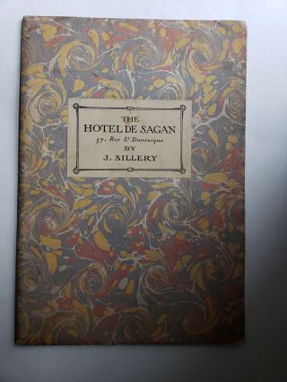 The Hotel de Sagan. 57, Rue St. Dominique. Monography (English Edition ). J. Sillery