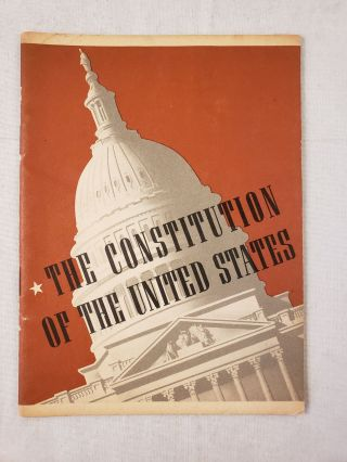 The Constitution of the United States. John Hancock Booklets