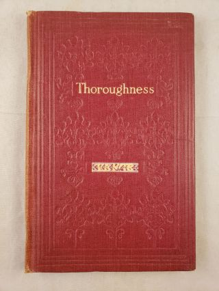 Thoroughness Talks To Young Men. Thain Davidson