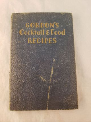 Gordon's Cocktail and Food Recipes Canapes and Tastybits for the Cocktail Hour. The Etiquette...