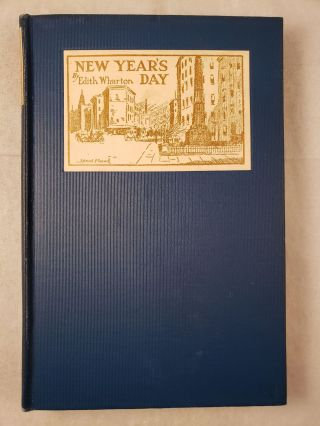 Old New York New Year's Day (The 'Seventies). Edith Wharton