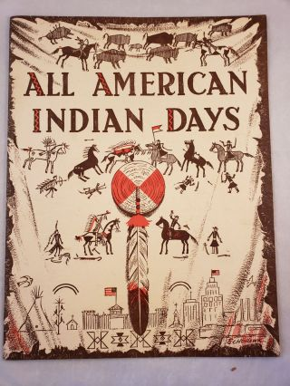 All American Indian Days August, 1956