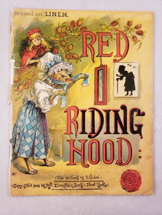 Red Riding Hood (Little Folks Series). R. Andre