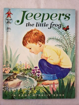Jeepers the little frog. Marjorie written and Cooper