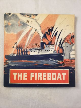 The Fireboat. Rebecca J. Coffin, Columbia from Lincoln School of Teachers
