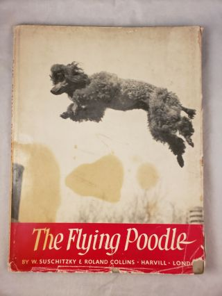 The Flying Poodle. Roland Collins, photographic, W. Suschitzky