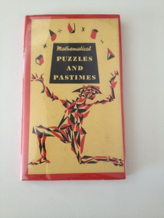 Mathematical Puzzles and Pastimes. Philip Haber, ed