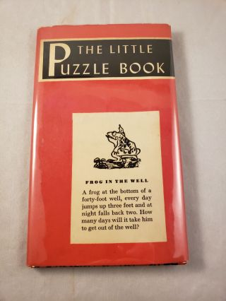 The Little Puzzle Book. Anonymous.