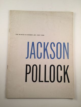 Museum of Modern Art Bulletin, : Vol. XXIV, No. 2, 1956-57. Jackson Pollock. Sam Hunter.