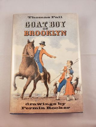 Goat Boy of Brooklyn. Thomas Fall